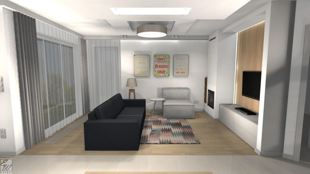 projekt domu 2d