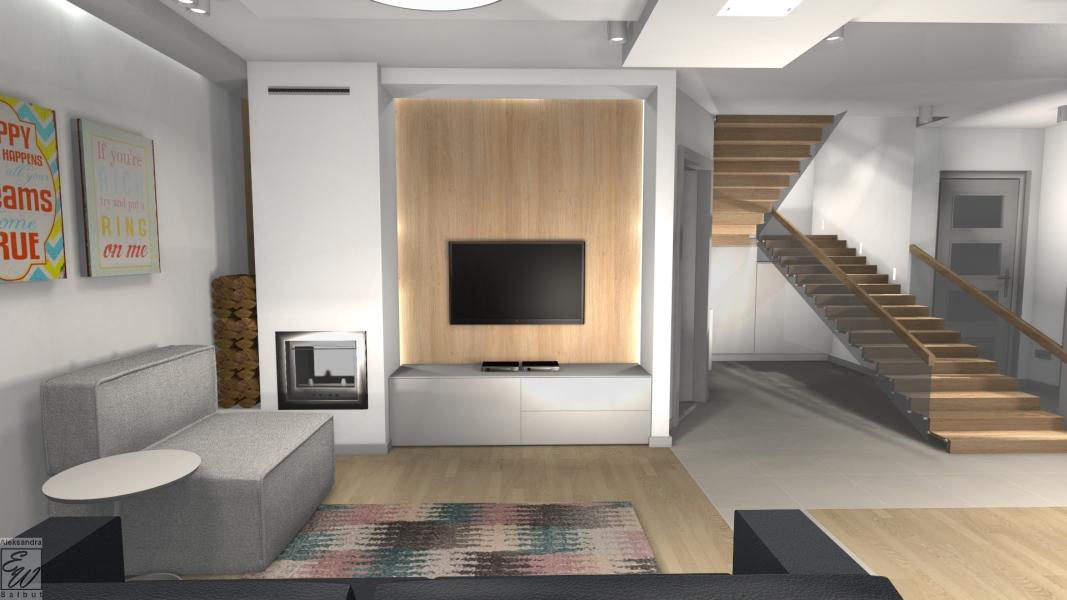 projekt domu 2e