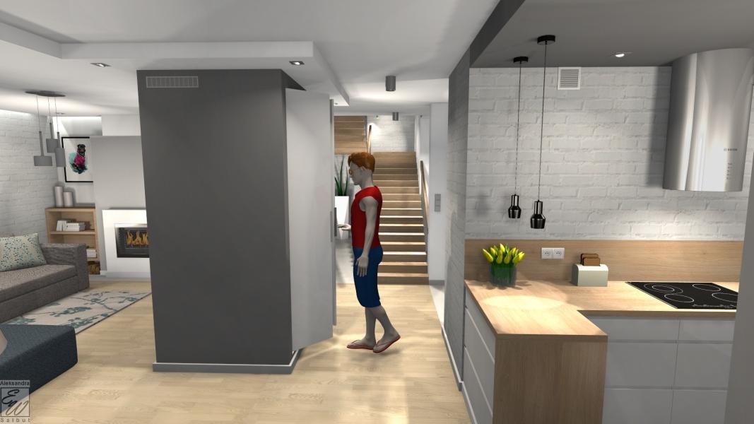 projekt domu 1f