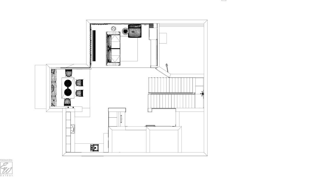projekt domu 2 rzut