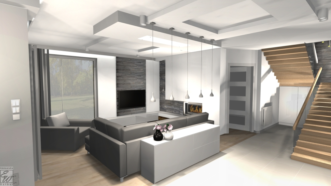 projekt domu 4f